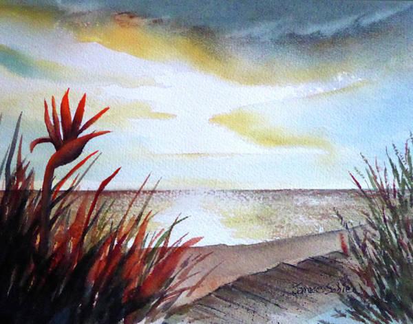 Laguna Beach Painting - Laguna Beach Paradise by Janice Sobien