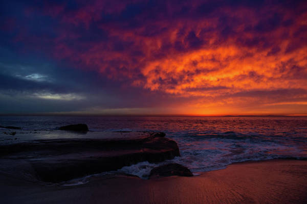 Photograph - Laguna Beach Sunset by Kyle Hanson