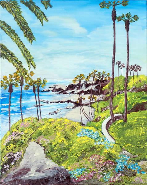 Laguna Beach Painting - Laguna Coastline  by Irving Starr