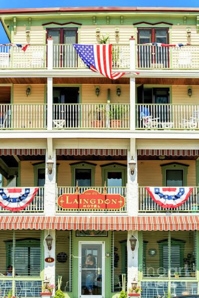 Photograph - Laingdon Hotel In Ocean Grove by John Rizzuto