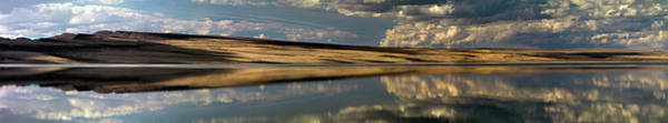 Photograph - Lake Abert Panoramic by Leland D Howard