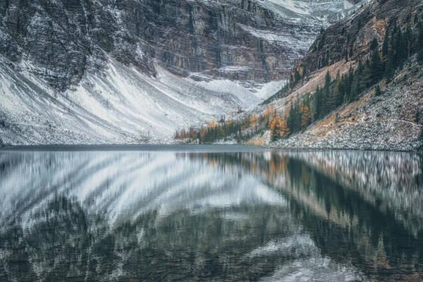 Alberta Photograph - Lake Agnes No 3 by Chris Fletcher