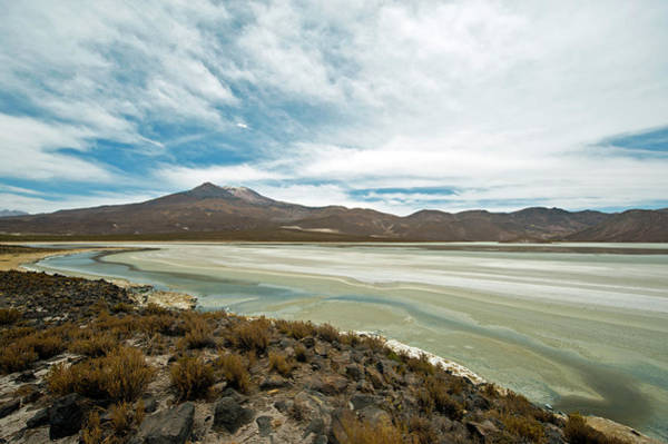 Wall Art - Photograph - Lake And Mountain Landscape, Macaya by Anthony Asael