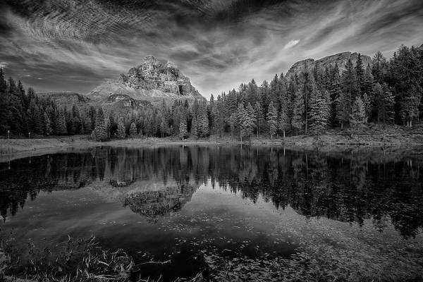 Photograph - Lake Antorno In The Dolomites II by Jon Glaser