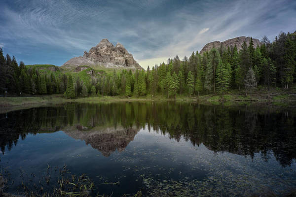 Photograph - Lake Antorno In The Dolomites by Jon Glaser