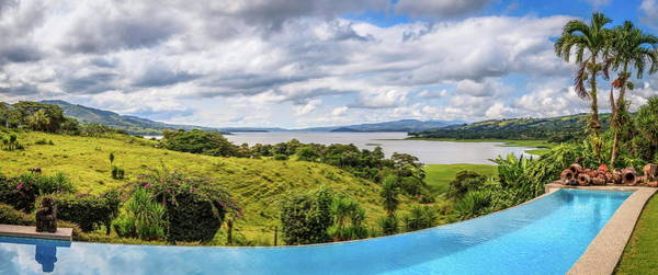 Wall Art - Photograph - Lake Arenal Panorma by Alexey Stiop