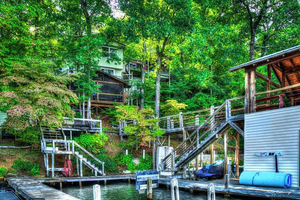 Wall Art - Photograph - Lake Burton The Tree House Retreat Home Living Art by Reid Callaway