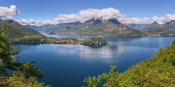 Wall Art - Photograph - Lake Como Italy Hike by Joan Carroll