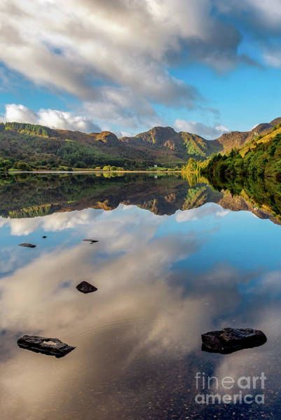 Wall Art - Photograph - Lake Crafnant Snowdonia by Adrian Evans