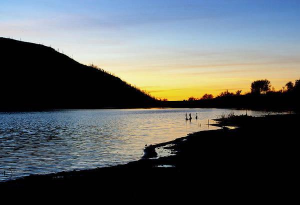 Lake Cuyamaca Sunset Art Print