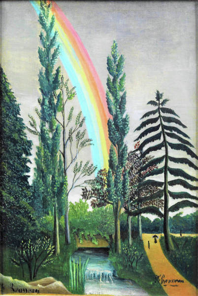 Wall Art - Painting - Lake Daumesnil, Storm Effect - Digital Remastered Edition by Henri Rousseau
