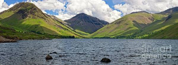 Photograph - Lake District Panorama - Wastwater by Martyn Arnold