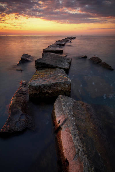 Photograph - Lake Erie Sunset  by Emmanuel Panagiotakis