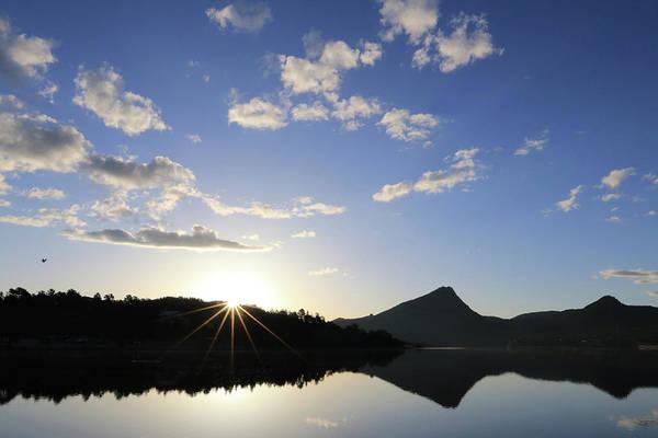 Wall Art - Photograph - Lake Estes Sunrise 1 by Lori Deiter