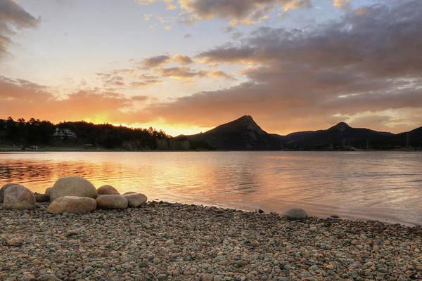 Wall Art - Photograph - Lake Estes Sunrise 3 by Lori Deiter