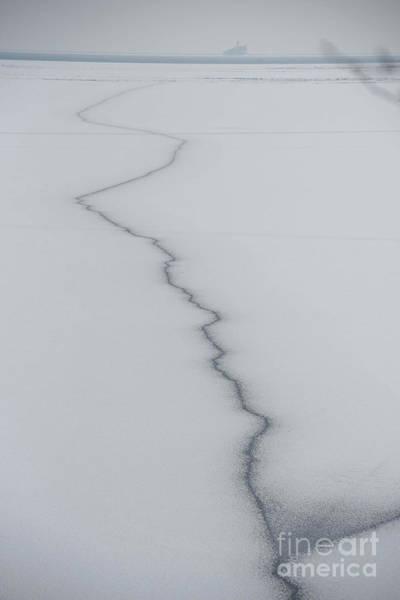 Wall Art - Photograph - Lake Fissure by David Bearden