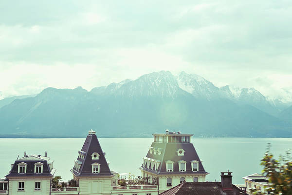 Lake Geneva Wall Art - Photograph - Lake Geneva, Lausanne, Switzerland by Chrispecoraro