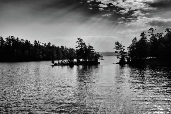 Photograph - Lake George Light by David Patterson