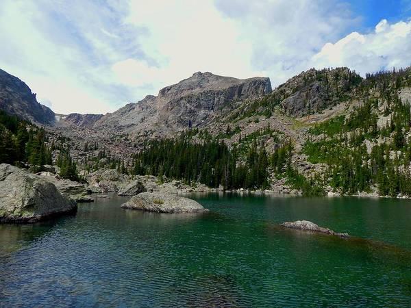 Photograph - Lake Haiyaha by Dan Miller