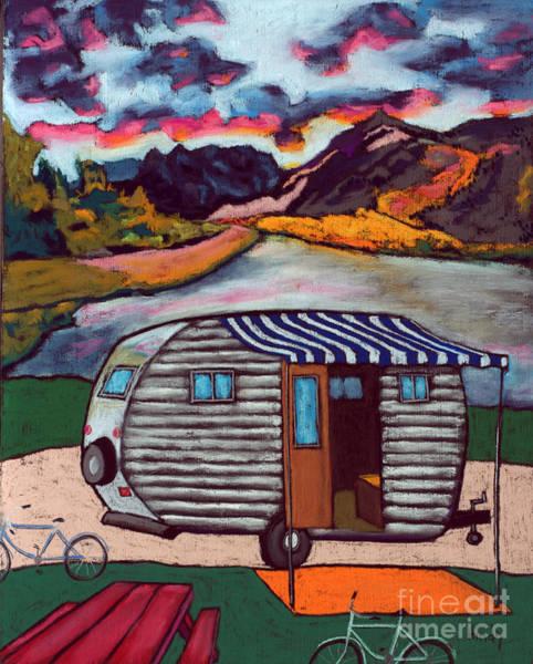 Wall Art - Painting - Lake Hemet California by David Hinds