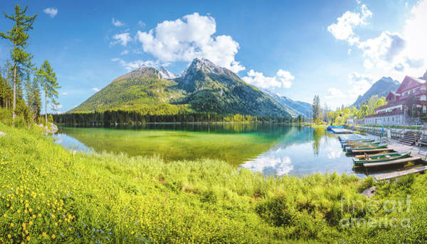 Wall Art - Photograph - Lake Hintersee Summer Dreams by JR Photography