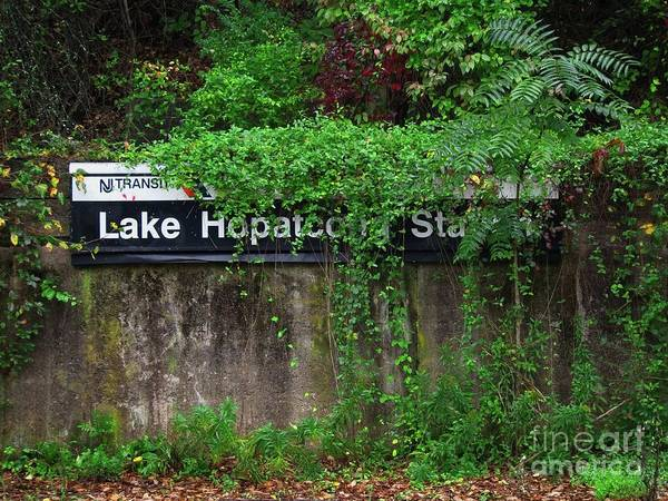 Photograph - Lake Hopatcong Station by Mark Miller
