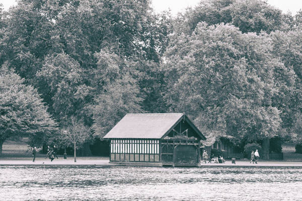 Wall Art - Photograph - Lake House by Martin Newman