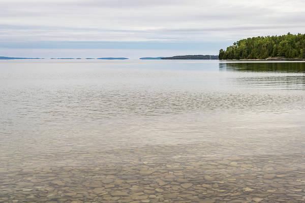 Photograph - Lake Huron Pastel Patterns by Georgia Mizuleva