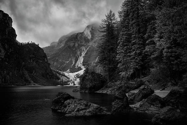 Wall Art - Photograph - Lake In The Dolomites by Jon Glaser