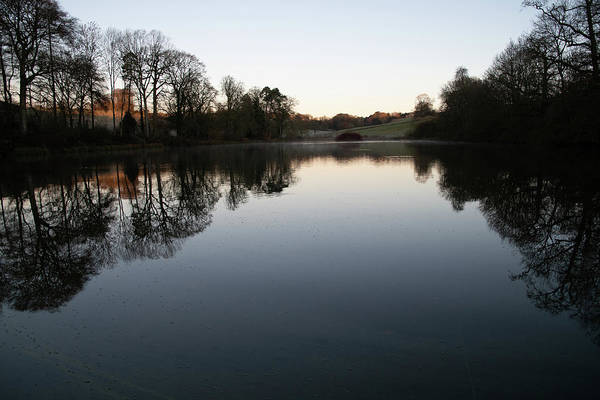 Photograph - Lake In The Evening by Mark Hunter
