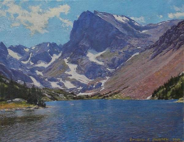 Andrew Jackson Wall Art - Painting - Lake Isabelle by Andrew Jackson