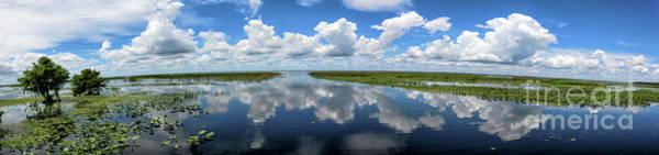 Wall Art - Photograph - Lake Istokpoga, Florida, Panorama by Felix Lai