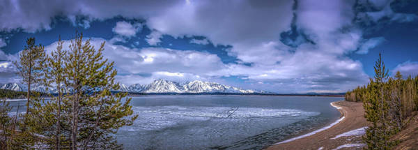 Lake Jackson Wyoming Art Print