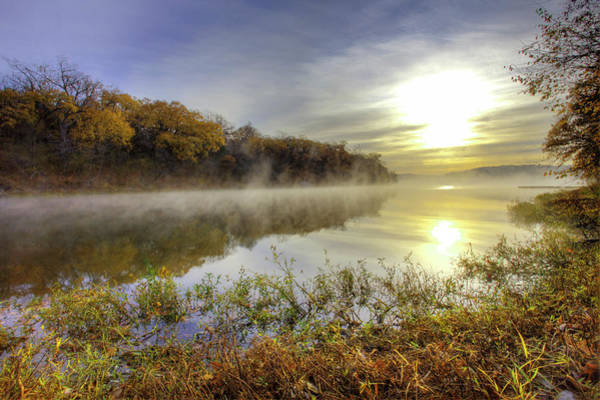 Urban Nature Photograph - Lake Jacomo, Fleming Park, Kansas City by Danita Delimont