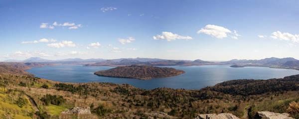 Wall Art - Photograph - Lake Kussharo In Late Autumn - Panorama - Hokkaido, Japan by Ellie Teramoto