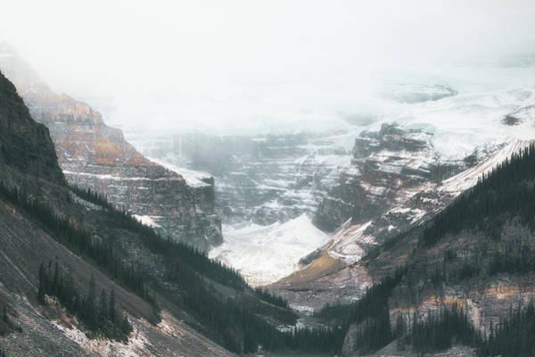 Lake Louise Photograph - Lake Louise Glacier by Chris Fletcher