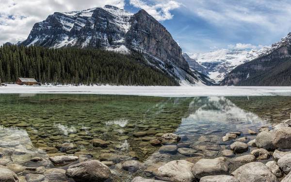 Photograph - Lake Louise, Mid May, Mid Day by Belinda Greb