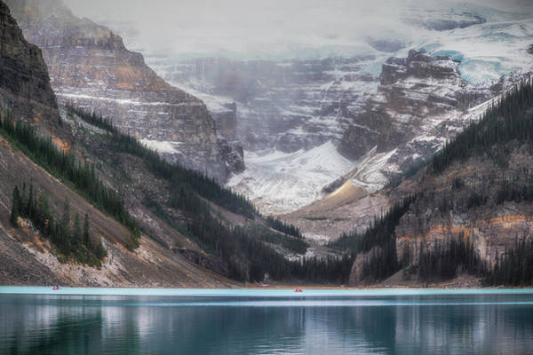 Alberta Wall Art - Photograph - Lake Louise No 1 by Chris Fletcher