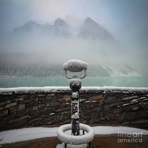 Wall Art - Photograph - Lake Louise Winter   by Inge Johnsson