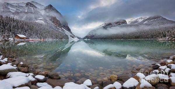 Wall Art - Photograph - Lake Louise Winter Panorama by Inge Johnsson