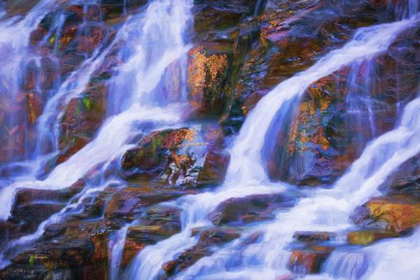 Wall Art - Photograph - Lake Mcdonald Falls Glacier National Park 101 by Rich Franco