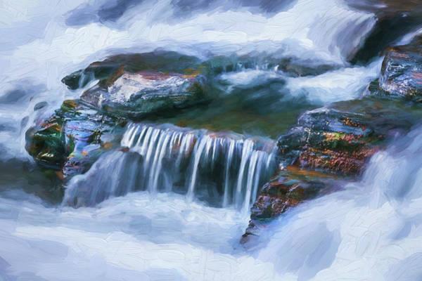 Wall Art - Photograph - Lake Mcdonald Falls Glacier National Park 103 by Rich Franco