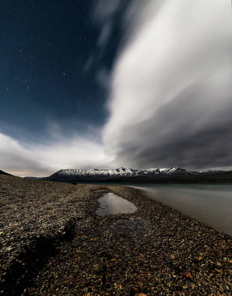 Photograph - Lake Mcdonald Storm by Jake Sorensen