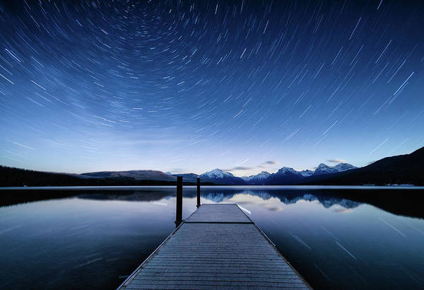 Photograph - Lake Mcdonald Trails by Jake Sorensen