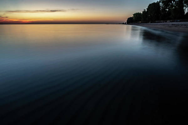 Photograph - Lake Michigan Dawn Shot  by Sven Brogren