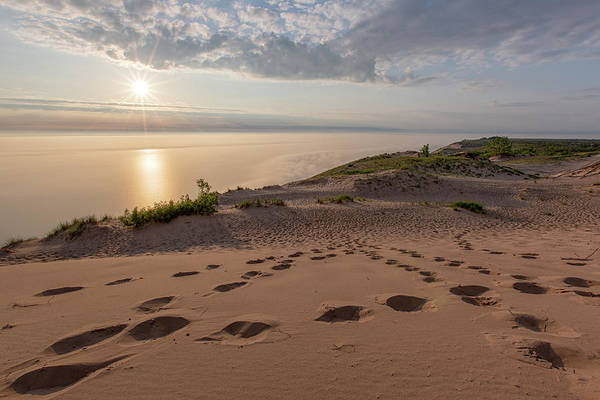 Drive Wall Art - Photograph - Lake Michigan Overlook 10 by Heather Kenward
