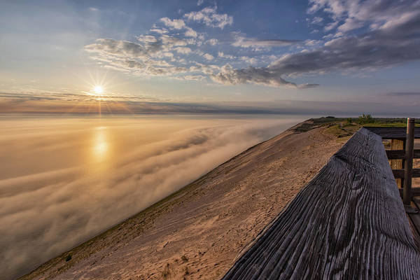 Wall Art - Photograph - Lake Michigan Overlook 12 by Heather Kenward