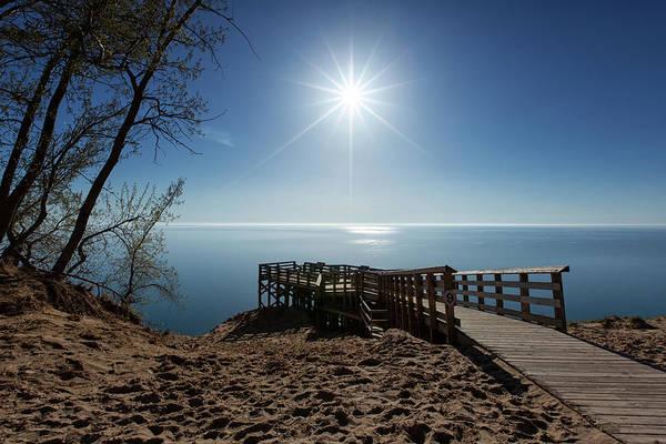 Drive Wall Art - Photograph - Lake Michigan Overlook 2 by Heather Kenward