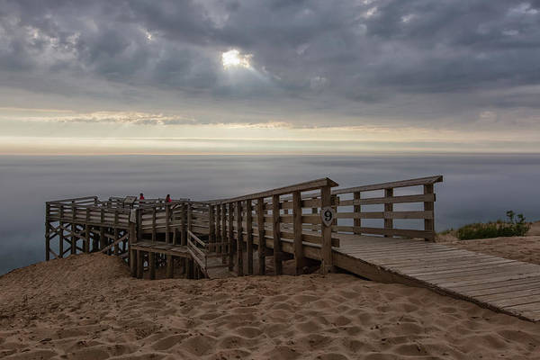 Wall Art - Photograph - Lake Michigan Overlook 6 by Heather Kenward