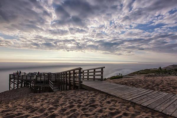 Photograph - Lake Michigan Overlook 7 by Heather Kenward